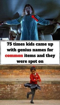 75 times kids came up with genius names for common items and they were spot on Laughing Therapy, Inspiring Things, Good Jokes, Kid Names, Mind Blown, Wonders Of The World, Cute Kids, Funny Quotes, Hilarious