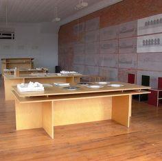 donald judd desk  Good studio table/ storage