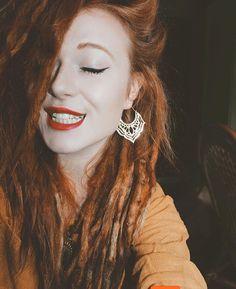 Lovely @elise.buch in Gypsy earrings from youaresuaisuai.com