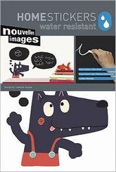 Schoolbord Sticker Nouvelles Images wolf