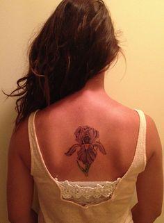 My iris tattoo :)