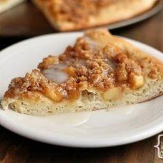 Apple Cinnamon Streusel Dessert Pizza with Picture