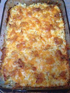 Loaded Cauliflower Casserole ~ Recipe of today