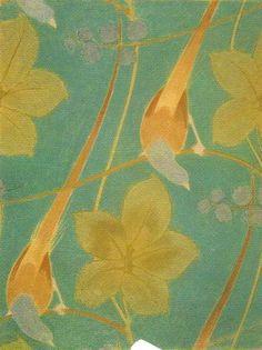 Archibald Knox textile design, ca. 1900