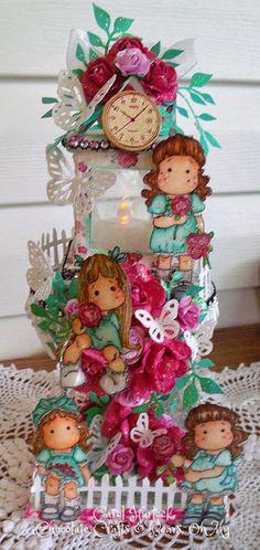 Chocolate Crafts and Bears, Oh My: Magnolia Luminary
