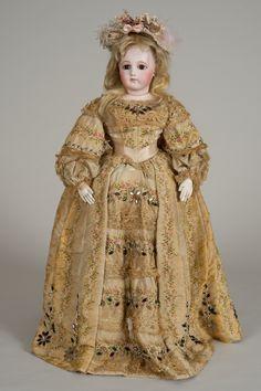 Beautiful Portrait Jumeau Fashion Doll - 18 Inches from beckysbackroom on Ruby Lane