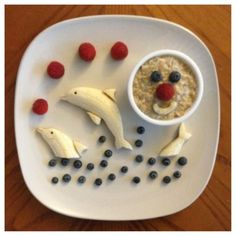 Healthy Snack Ideas Kids WILL Eat - Healthy Snacks for Toddlers, Preschoolers & Kids of all Ages - Involvery Cute Snacks, Cute Food, Good Food, Yummy Food, Baby Food Recipes, Snack Recipes, Cooking Recipes, Easy Cooking, Healthy Cooking