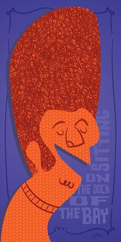 Henrique San - rockabilly, tiki and retro art