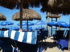 Blue Chairs, Puerto Vallarta, Mexico