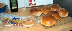 Bringing It All Together - Brioche Hamburger Buns