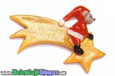 Adornos de navidad con pasta de sal