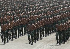 Celebrations of 70th anniversary of Indonesian military