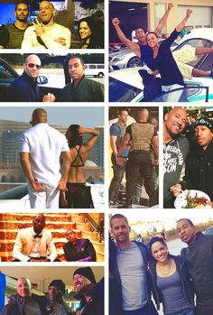 Fast and Furious family Beau Film, Furious Movie, The Furious, Black Couples, Couples In Love, Fast And Furious Actors, Brian Oconner, Dom And Letty, Dominic Toretto