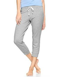 Cozy cropped pants need these!