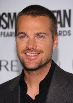 Chris O'Donnell when you put a gun in his hand on NCIS instantly irresistible