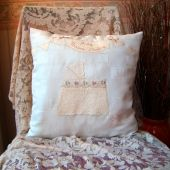 Embroided Cushions   Cushions   Home & Garden   Swanky Maison  Christening Cushions are fabulous gifts xx