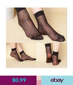 Frauen Ultrathin Transparente Kristall Anhänger Seide Elastische Knöchelsocken n