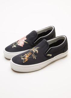 Slip On Dx California Souvenir Sneaker - Black