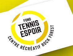 Logo développé pour le fond Tennis Espoir