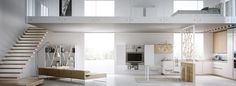 Beautiful Loft Interior Designs | You And Saturation