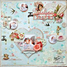 Layout by Maiko Miwa featuring the Ingvild Bolme line by Prima