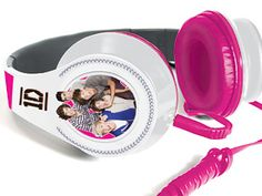 One Direction Headphones!! Complete with rhinestones and a pic of the group! They aren't out yet, but there gonna be $20!! Whoo! totally on my need list