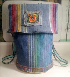 Skookin, DIY Jeans Leg Knapsack