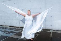 Breite deine Flügel aus (Plus-Size-Fotografie) | Body Positivity, Motivation | Foto: Jörg Merlin Noack - Fotografik