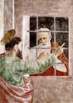 St. Peter In Jail by Masaccio