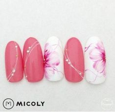 pink love nail art design - Sofia L. Manicure Nail Designs, Nail Polish Designs, Nail Manicure, Diy Nails, Cute Nails, Pretty Nails, Nail Art Designs, Glitter Manicure, Acrylic Nail Art