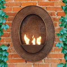 The fireplace uses Bird Brain Firepot Fuel Gel, a clean-burning, alcohol-based fuel gel, providing a flame with no smoke or messy ashes. Bird Brain also offers Fuel Gel with Citronella, for effective mosquito control.
