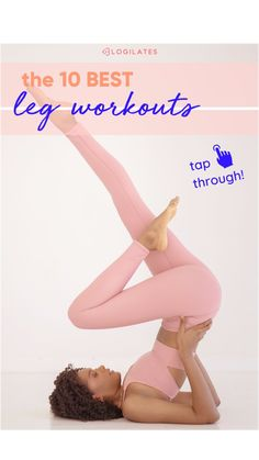 Killer Workouts, Easy Workouts, Thigh Workouts, Lower Belly Workout, Best Leg Workout, Fast Muscle Growth, Blogilates, Workout Calendar, Fitness Workout For Women
