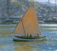 Below Telegraph Hill By Christopher Blossom