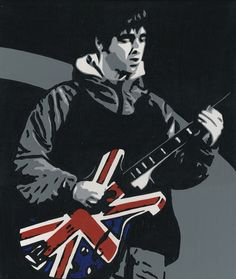 """090SB004 - Oasis, Cool Britain - 16"""" x 12"""" Print Only £12.99 9.5"""" x 6.5"""" Mounted to 14"""" x 11"""" - £12.99"""