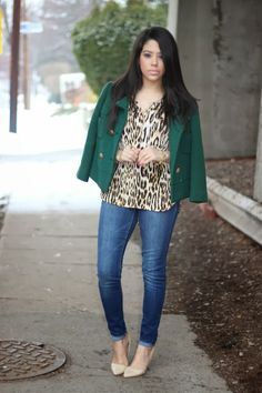A Love Affair With Fashion : A Touch Of Vintage & Leopard