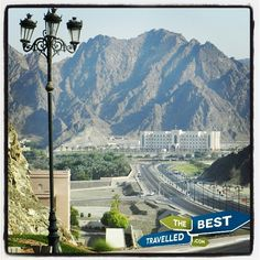 #Oman #Muscat #highway #traffic #Middle #East #hills #mountains #visit #travel #explore #thebesttravelled
