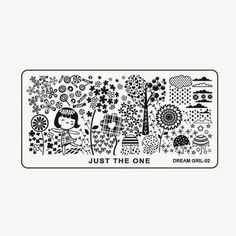 Hot Off The Stamping Press: New Aliexpress Dream Girl Nail Art Stamping Plates!