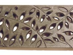 The Drainage Products Store - NDS Mini Channel Decorative Botanical Grate - Black (Each), $16.46 (http://stores.drainageproducts.us/nds-mini-channel-decorative-botanical-grate-black-each/)