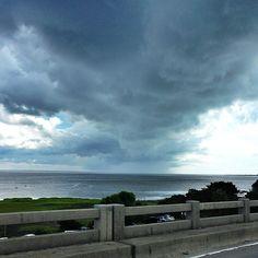 Stormy skies in Savannah