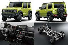 Le nouveau Suzuki Jimny (2018) annoncé