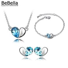 Like and Share if you want this  Crystal Heart Set     Tag a friend who would love this!     FREE Shipping Worldwide     Get it here ---> https://kkspot.com/product/crystal-heart-set/
