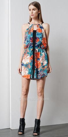 Jessie Floral Dress by EDM Private Collection