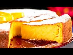 Simple cake - mix slices of orange with eggs and flour. The result will surprise you! Orange Slice Cake, Orange Slices, No Cook Desserts, How To Make Cake, Cornbread, Biscuits, Cheesecake, Eggs, Make It Yourself