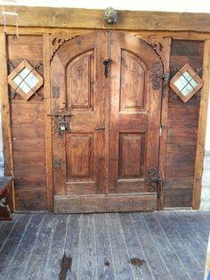 Door in Cortina d'Ampezzo