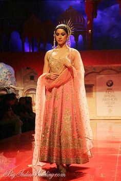 Suneet Varma pink floor-length designer anarkali. #anarkali #pinkanarkali…