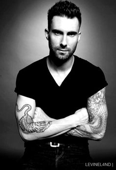 Adam Levine - Not just handsome but has a lot in common with me. We both have ADHD, are silly, promote same-sex marriage, and enjoy the same music. Lol