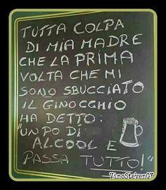 ..Tavola e bicchiere, tradisce in più maniere.. #stevengy #auguri #buonanno