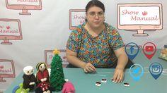 Show Manual 297 ( Estambres/Crochet Muñecos de Nieve)