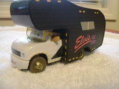 Disney Elvis car