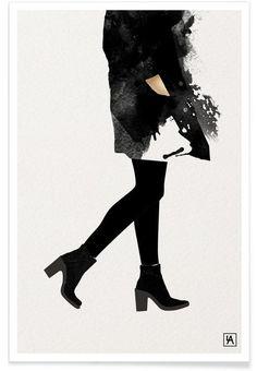 BB Mood als Premium Poster von Andriana Chunis | JUNIQE